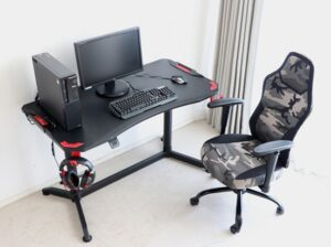 Gaming chair desk